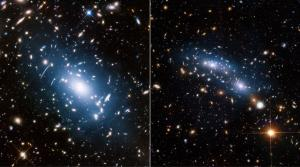 Тусклое свечение пространства между галактиками указывает на темную материю