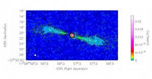 Исследователи изучают излучение молекулярного газа галактики NGC 3557